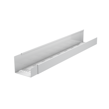 Adjustable Cable tray IntelliDesk, Silver