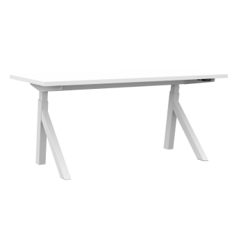 Sit-Stand Table Frame ErgoProof Design, Silver